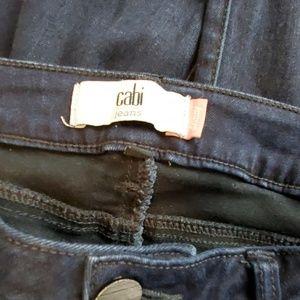 Cabi Distressed Skinny Jeans Size 8